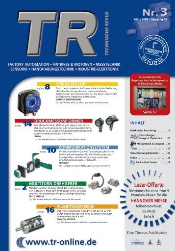 Leser-Offerte - Thomas Industrial Media