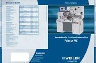 Primus VC - Weiler Werkzeugmaschinen GmbH