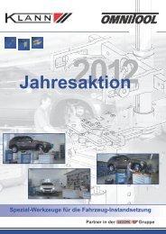 Jahresaktion 2012 - Gedore