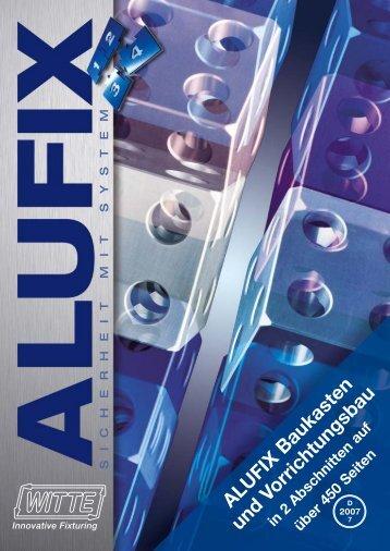 ALUFIX Baukasten und Vorrichtungsbau - Horst Witte Gerätebau