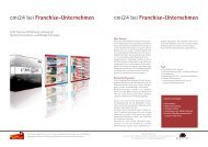 cmi24 bei Franchise-Unternehmen cmi24 bei Franchise ... - PresseBox