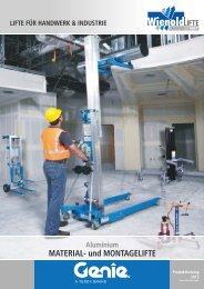 MATERIAL- und MONTAGELIFTE Aluminium - Norbert Wienold GmbH