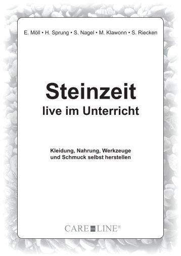 Steinzeit live im Unterricht Kleidung, Nahrung, Werkzeuge ... - Shop