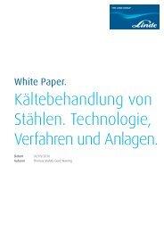 White Paper Kältebehandlung von Stählen. - Linde Gas