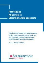 Fachtagung Allgemeines Gleichbehandlungsgesetz - Competence ...