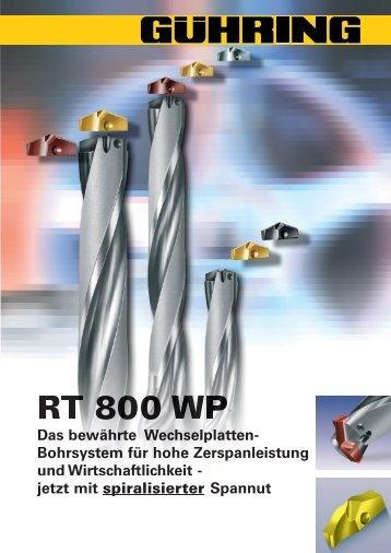 RT 800 WP . Wechselplattenhalter