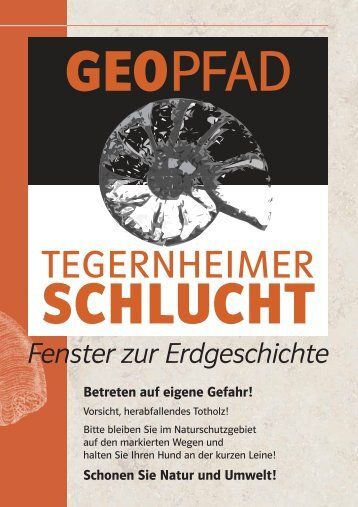 Geopfad Tegernheimer Schlucht - Heimat- und Geschichtsverein ...