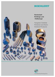 Hartmetall- Rohlinge und -Halbzeuge Tungsten Carbide Finished ...