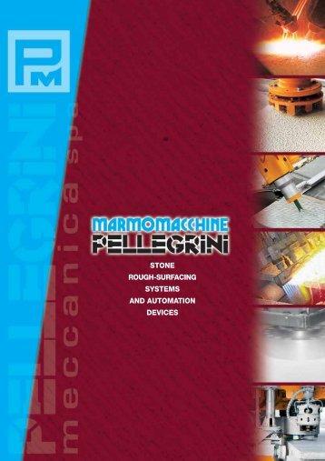 bush-hammering - Pellegrini Meccanica Spa