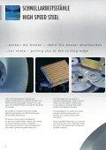 Werkzeugstahl - Tool Steel - BÖHLER Bleche - Seite 6