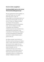 Service weiter ausgebaut EschmannStahl startet mit neuem ...