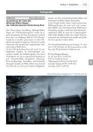 Fotografie - Volkshochschule Reckenberg-Ems