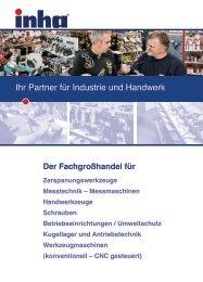 24-Stunden-Notdienst: 0800/46 42 46 24 www.inha.de