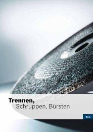 Trennen, Schruppen, Bürsten - Bosch Elektrowerkzeuge