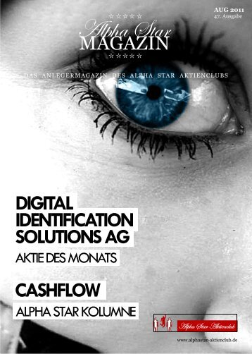 cashflow digital identification solutions ag - Alpha Star Aktienclub
