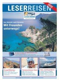 Reiseprogramm - Morgenweb