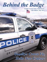 Behind the Badge - Fairfax County Government