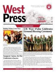 UH West O'ahu Celebrates Ground Blessing Ceremony