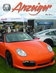May 2012 Anzeiger - Oregon Region Porsche Club of America