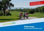 Radfernwege - Oberschwaben Allgäu