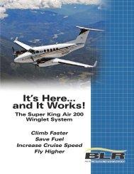 Super King Air 200 Winglet System