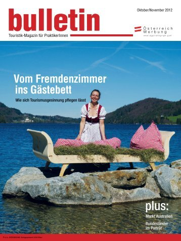 bulletin - Österreich Werbung