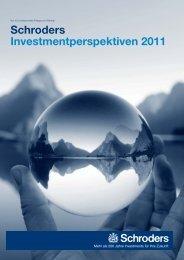 Schroders Investmentperspektiven 2011