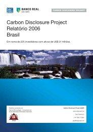 CDP4 Signatários 2006 - Carbon Disclosure Project