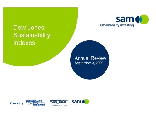 Component Selection Dow Jones Sustainability Index