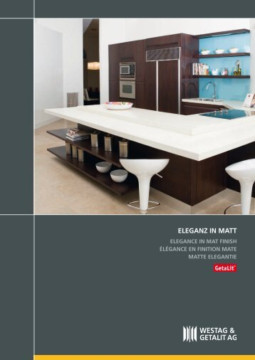 ElEGAnz in mAtt - Architectenweb
