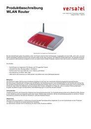 Produktbeschreibung WLAN Router - BORnet