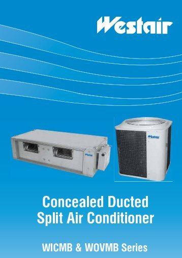 oncealed Ducted