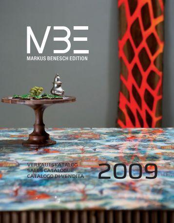 MARKUS BENESCH EDITION - Markus Benesch Creates