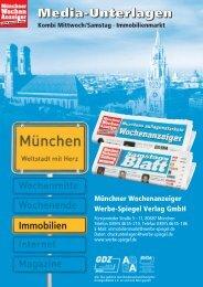 Media-Unterlagen - Wochenanzeiger München