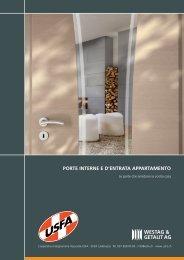 porte interne ed'entrata appartamento - Cooperativa Falegnamerie ...