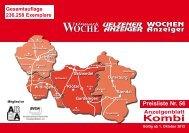 Anzeigenblatt Kombi Gesamtausgabe - az-online.de