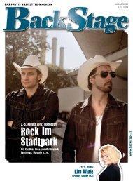 Stadt-Musik - BackStage