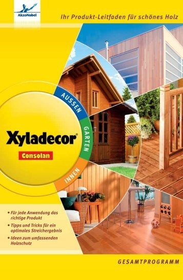 Holzschutz-Lasur - Xyladecor
