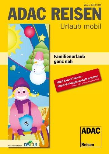 ADAC - Familienurlaub ganz nah - Parteneri – Perfect Tour