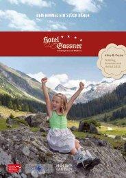 PRElSE SOMMER 2011 - Hotel Gassner