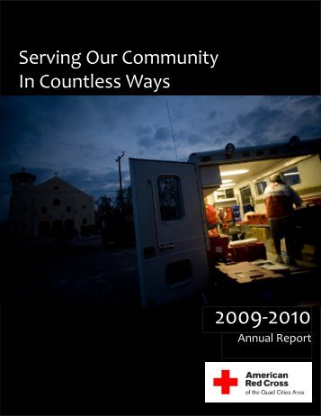 Serving Our Community In Countless Ways - American Red Cross of ...