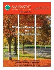 Workforce Development And Community Education - Massasoit ...