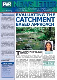 The Catchment Based approach from pilot to roll out - Foundation for ...