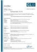 Zertifikat Germanischer Lloyd - Karl Flender - Seite 2