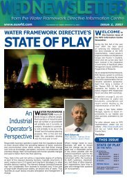 STATE OF PLAY - Foundation for Water Research