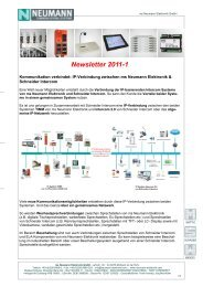 Newsletter 2011-1 - Neumann Elektronik