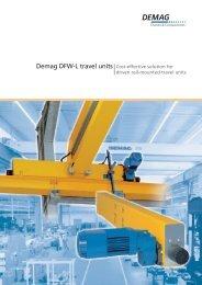 Demag DFW-L travel units - Demag Cranes & Components
