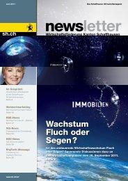 Ausgabe 2 - Juni 2011 (5.5 MB) - Wirtschaftsförderung Kanton ...