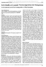 Individuelle und soziale Thermoregulation der Honigbiene