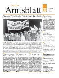 Dresden 6 - Dresdner Amtsblatt
